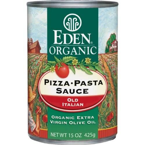 Eden Organic Pizza Sauce - best organic pizza sauce brands