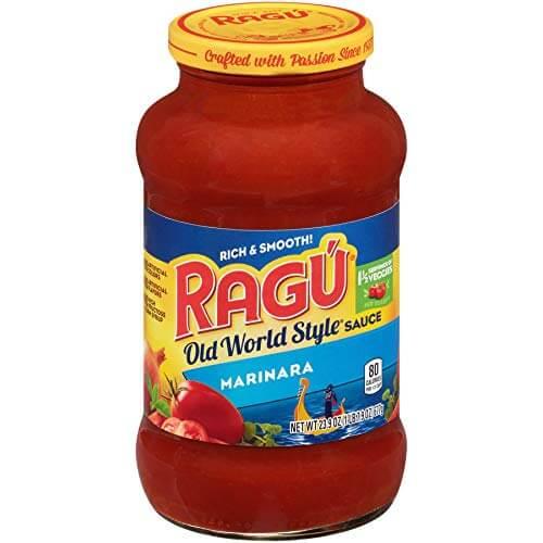 Ragu Pizza Sauce - marinara vs pizza sauces
