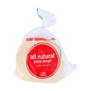 3. Whole Foods Whole Wheat Pizza Dough