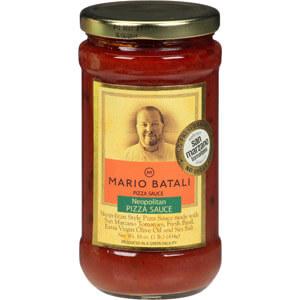 Mario Batali Neopolitan Pizza Sauce - best jarred pizza sauce