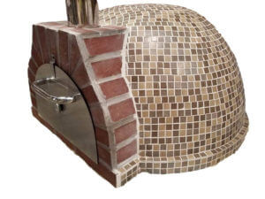 prefabricated outdoor fireplace pizza oven