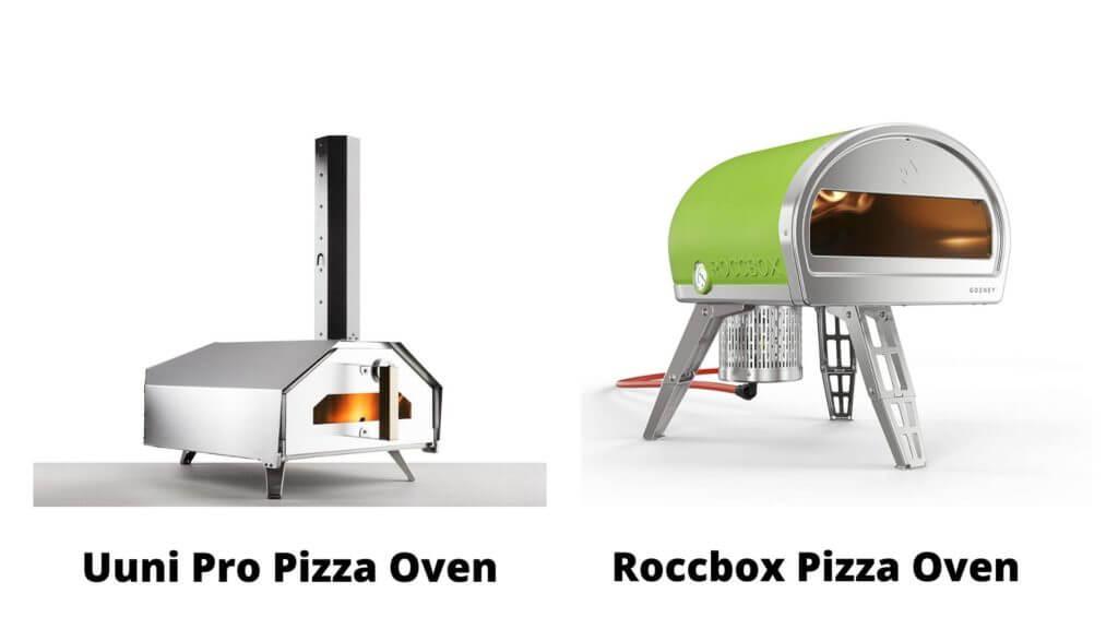 Design of Uuni Pro and Roccbox Pizza Oven