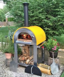Forno Bello Pizza Oven Setup