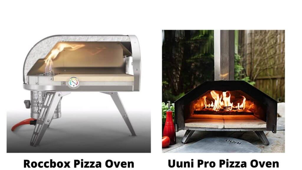Interior Cooking Space of Uuni Pro and Roccbox Pizza Oven