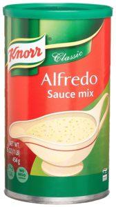 Knorr brand of alfredo sauce