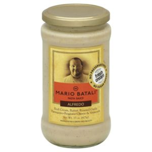 Mario batali's premade alfredo sauce