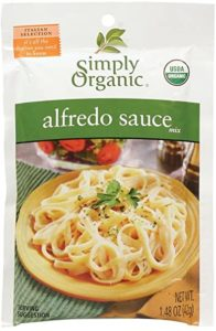 Simply Organic - best store bought fettuccine alfredo sauce