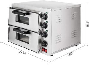 "VBENLEM 14"" - commercial pizza oven temperature"