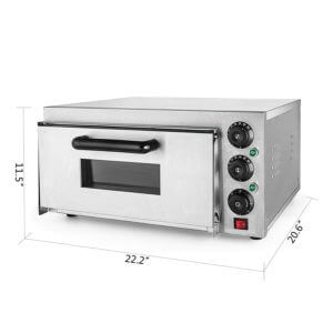 VEVOR - small commercial pizza oven