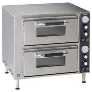 Waring Commercial WPO750 Electric Pizza Oven - Double Deck Commercial Pizza Oven