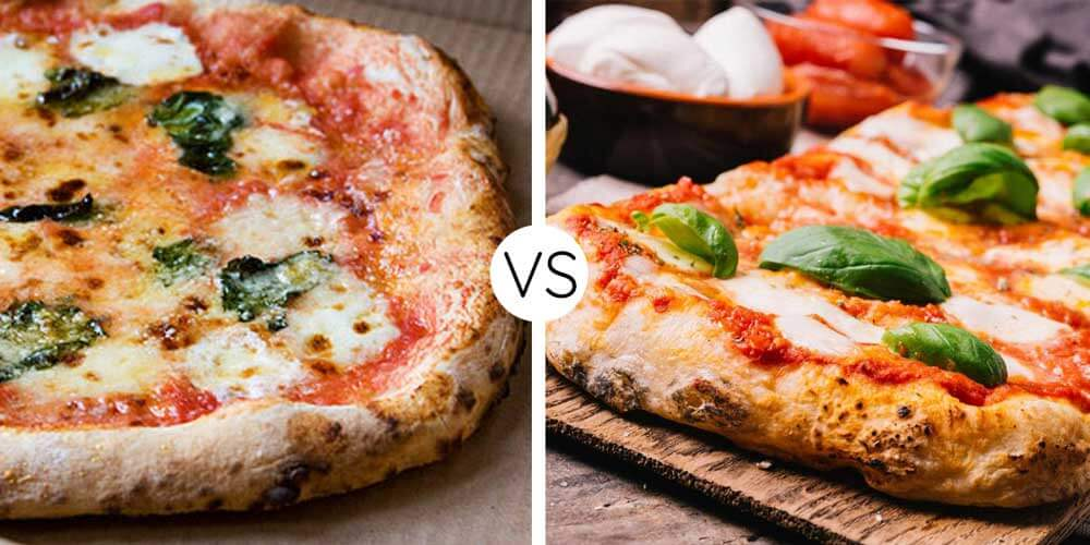 neapolitan vs sicilian pizza