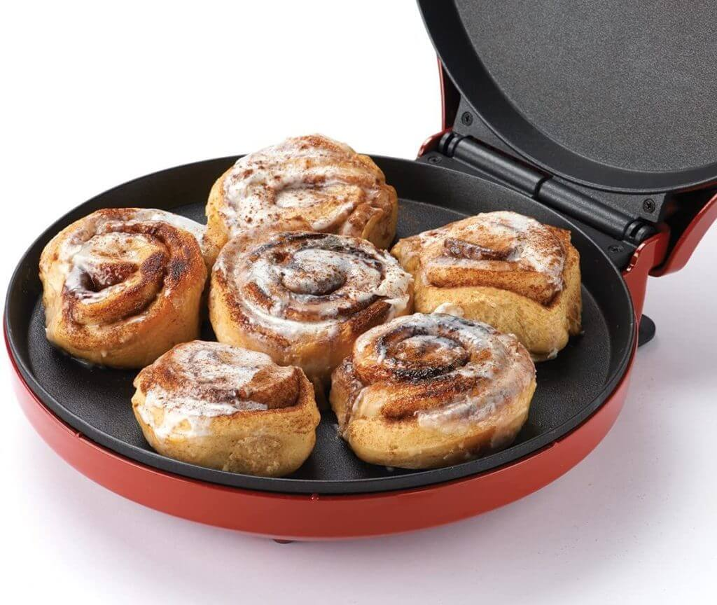 Betty Crocker Pizza Maker Recipes cinnamon rolls