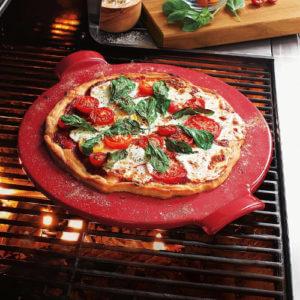 Emile Henry Pizza Stone - granite pizza stone