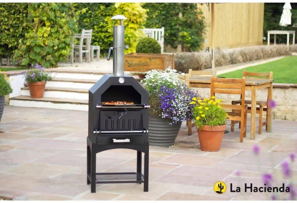 La Hacienda Steel Pizza Oven and Smoker Review