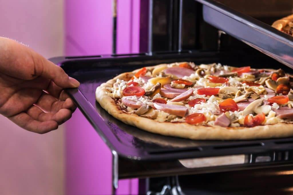 how to use a pizza stone for frozen pizza