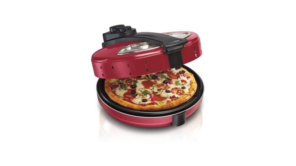 """hamilton beach enclosed 12"""" pizza oven maker 31700"""