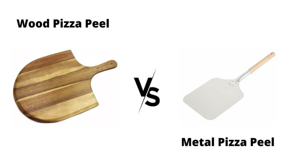 pizza peel wood vs metal