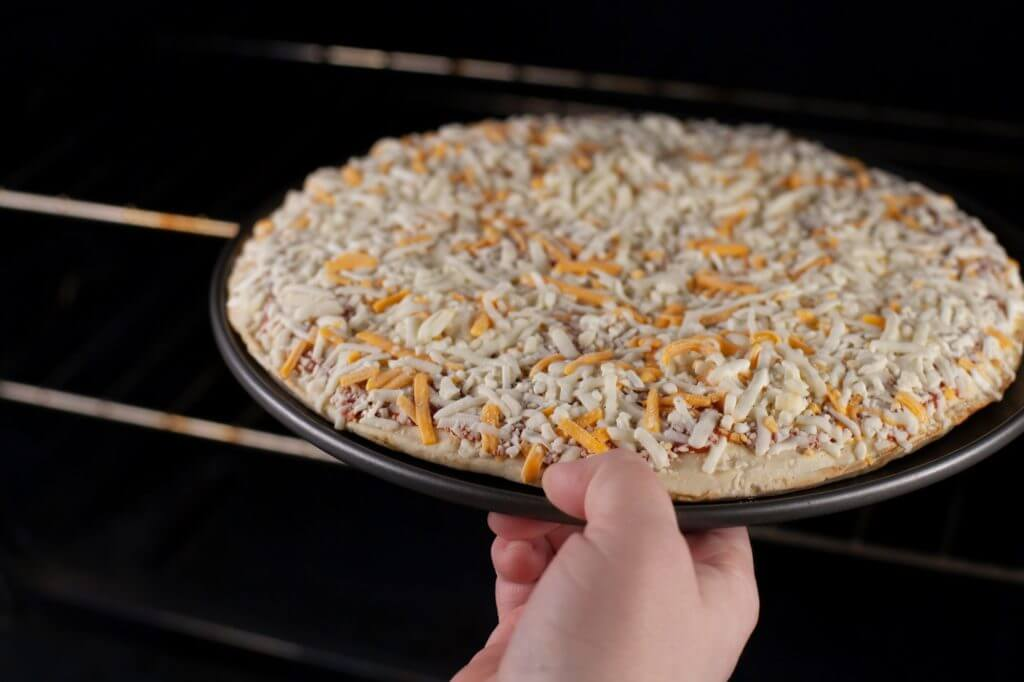 can you cook a frozen pizza on a pizza stone