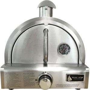 Mont Alpi MAPZ-SS Propane Pizza Oven