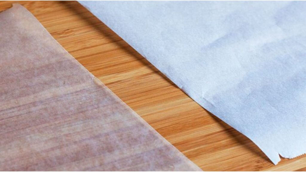 difference between parchment paper and wax paper