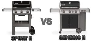 weber spirit e-310 vs genesis e-310