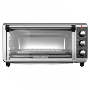 BLACK+DECKER Convection Countertop Toaster Oven for Frozen Pizza