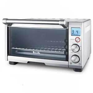 Breville BOV650XL Compact Smart Toaster Oven for Frozen Pizza