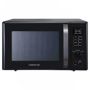 Farberware Black FMO10AHDBKC Convection Microwave with Pizza Oven
