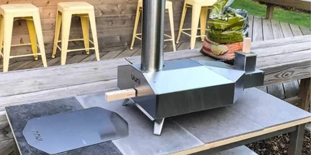 Setup of Uuni 3 Pizza Oven
