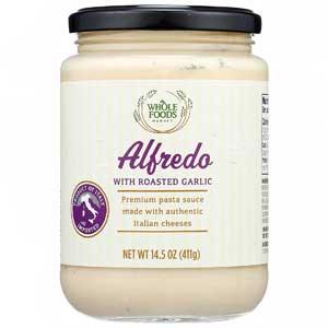 Whole Foods Market Alfredo Sauce with Roasted Garlic