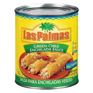 Las Palmas Green Enchilada Sauce