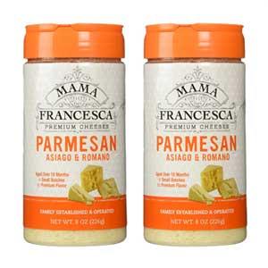 Mama Francesca Asiago & Romano Parmesan Cheese