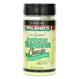 Milano's Parmesan Cheese Jars