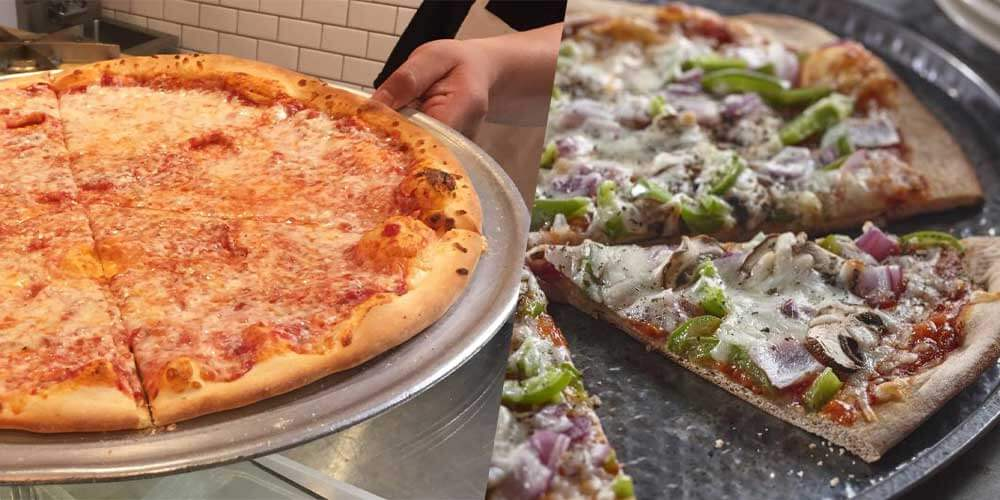 brooklyn style vs think crust pizza dominos
